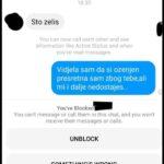Moja supruga je spavala pored mene, i odjednom sam dobio obavijest na Facebooku,